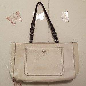 Coach Chelsea Leather Shopper Tote 10892